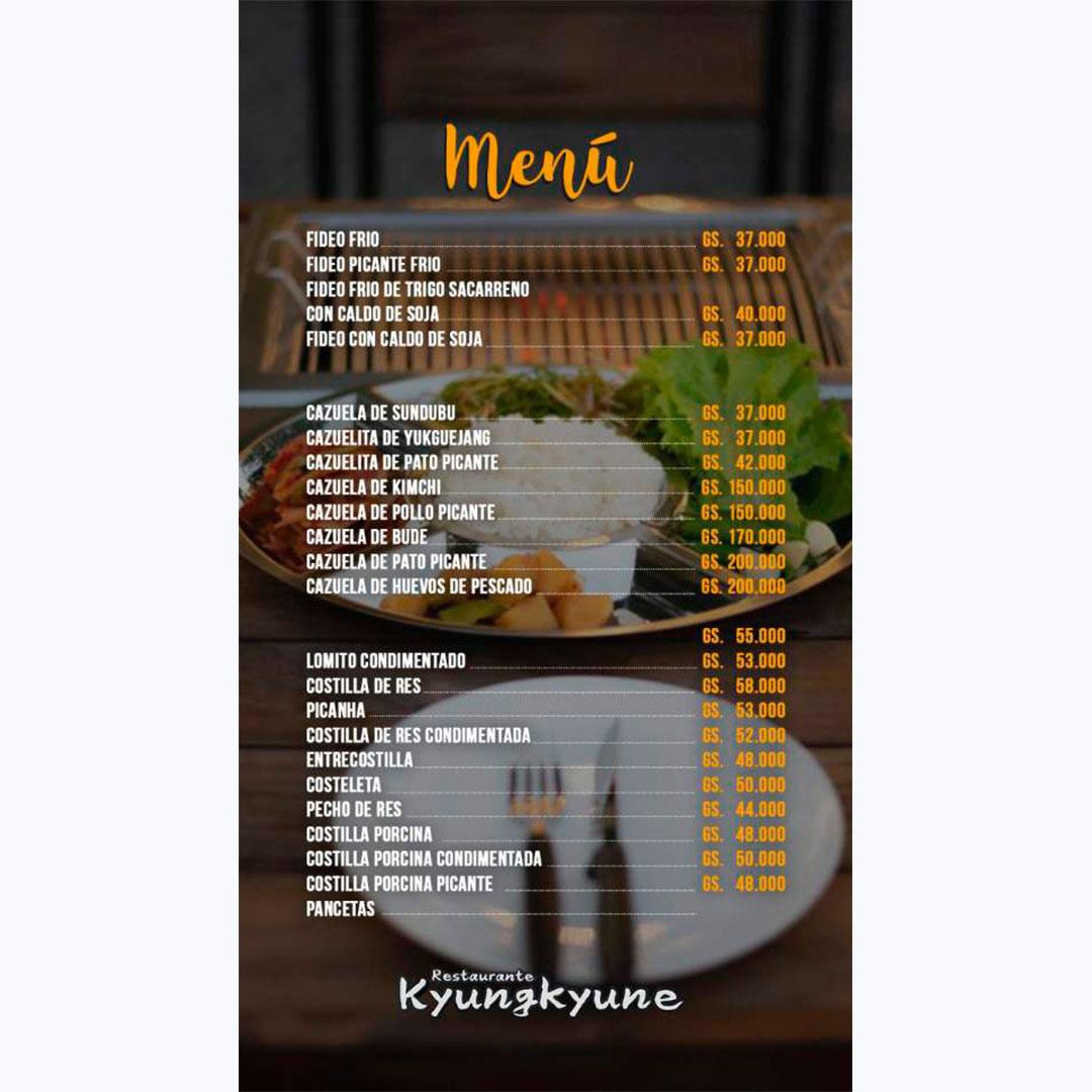 Restaurant Kyungkyune