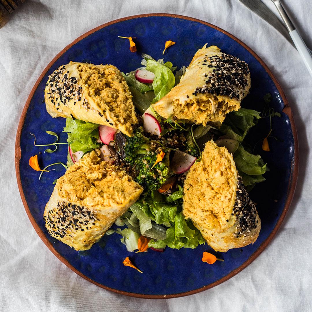 Protein rolls