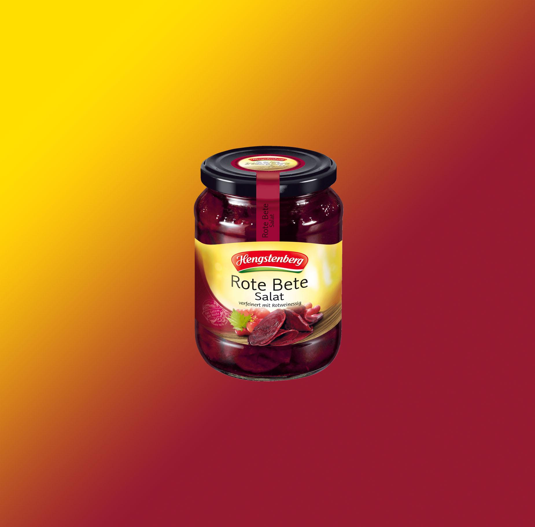 Rote bete salat (Ensalada de remolacha roja)
