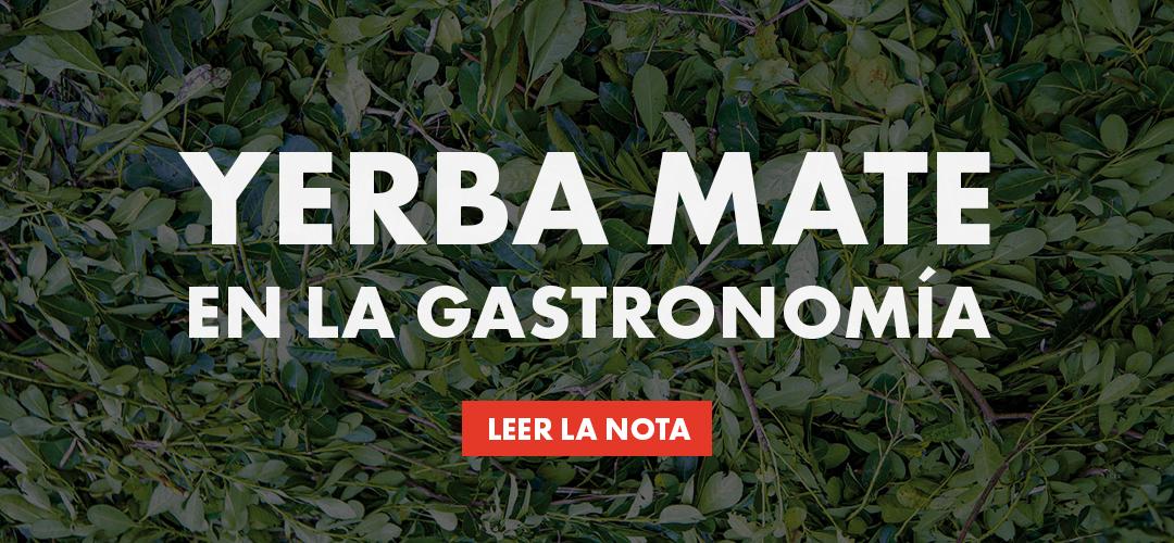 Yerba Mate en la gastronomía