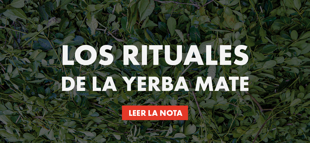 Los rituales de la Yerba Mate