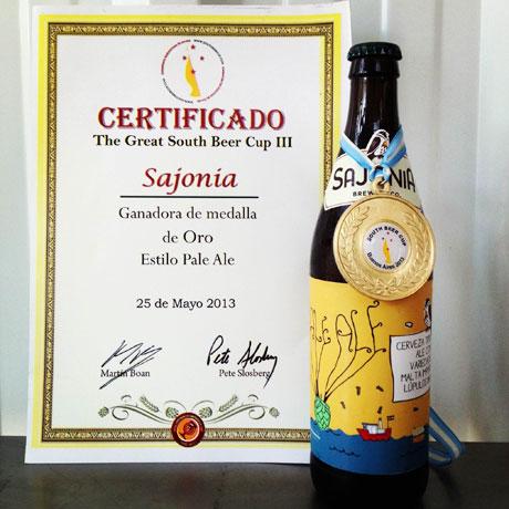 Cerveza artesanal paraguaya con medalla de oro en Argentina